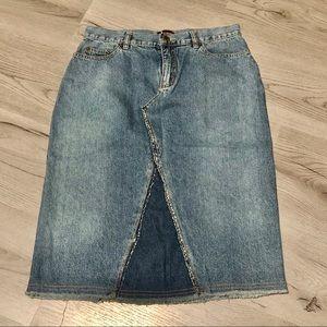 NY & Company NY Jeans Skirt Size 4